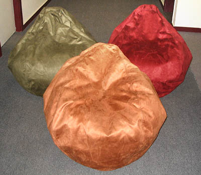 Faux Suede Luxury Beanbag chairs