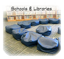 Bean Bags for librarys