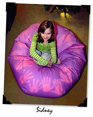 Colormorph beanbag