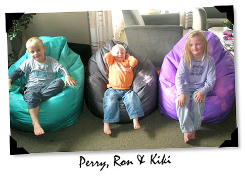 Color Changing Beanbags