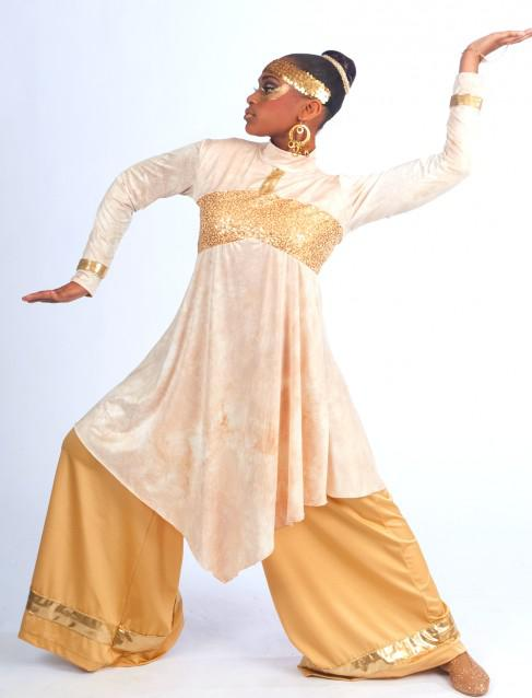 Praise dancewear, worship dance attire