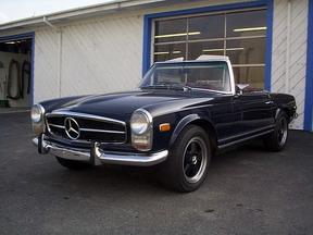 1969 MERCEDES 280 SL, 54K