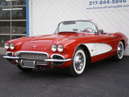 1961 CHEVROLET CORVETTE ROADSTER, 4 SPEED