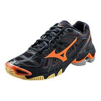 a8ae6de11d0b Mizuno Women s Wave Lightning RX 2 - Black Orange