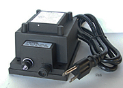 100 Watt outdoor Transformer for 12 volt Lights | water tight | accepts a 2 pin power cord