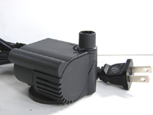United AP 75 indoor small fountain pump, Submersible fountain pump