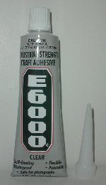 Strong clear glue, E-6000 is clear | strong adhesive clear glue