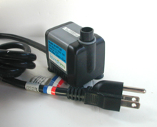 Fountain Pro WT-125 Pump | Small outdoor pump | Shallow water pump