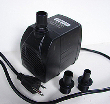Fountain Pro WT-800p Fountain Pump, 800 GPH 11 foot lift