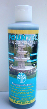 Fountec Fountain Solution, Algae controller, nonfoaming  solution concentrated