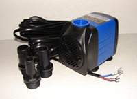 Large outdoor low voltage fountain pump, Fountain Pro WA-530-LV