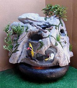 Kayaker's Waterfall Fountain