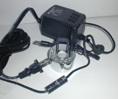 Ocean Mist Fogger with eight modes, inline controller
