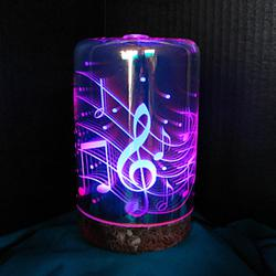 Mother's Day Gift Ideas, fragrance mister humidifier with 3D lights