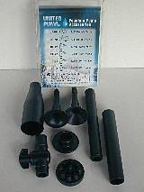 Fountain Nozzles Kit, Lily Spray, Mushroom spray, 3 Tier Spray