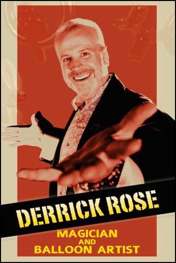Derrick Rose Magician and Balloon Artist