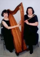 Suite Elegante Arkansas Harp and Flute Duo