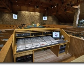 House Of Worship Sound Installation Arkansas
