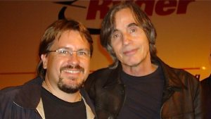 Jackson Browne plays Trance Audio on tour and in the studio