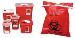 MD sharps container needle waste disposal