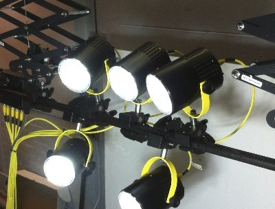 YJ5X Multi-head Lab LED Lighting System