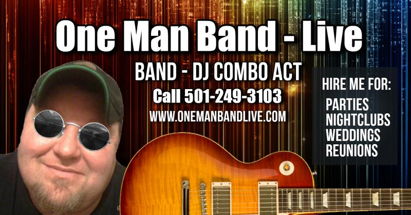 One Man Band - Live