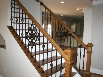How to install Knee Wall iron baluster video