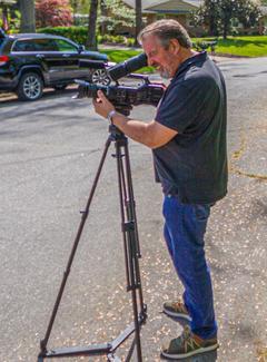 Jeff on shoot with Jamie